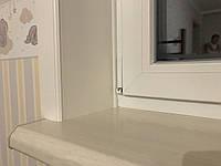 Откосы Qunell (Кюнель) белые К250 1.5-2.25. Полный набор с креплениями на окно 1,5*2,25