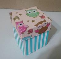 Коробка подарочная 7х7х9 см, фото 1