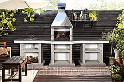 Садовая печь-барбекю Stimlex Steel BCРF
