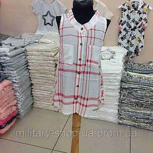 Легкая летняя блузка девочкам