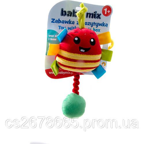 Подвеска музыкальная пищалка Божья коровка 4644 Baby Mix