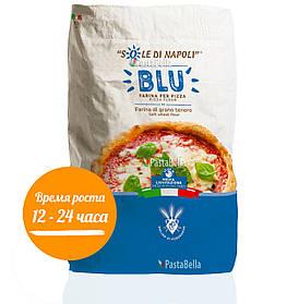 "Итальянская мука для пиццы ""Синяя""- Farina di grano tenero tipo ""00"" Sole di Napoli BLU 25кг"