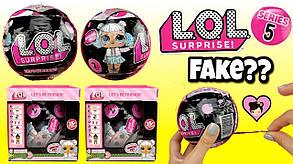 Кукла в шаре LoL Surprise ЛОЛ 3шт в коробке, фото 3