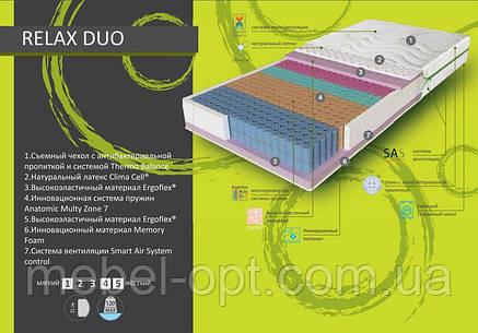 Ортопедический матрас  Relax Duo 70x190 см Evolution, фото 2
