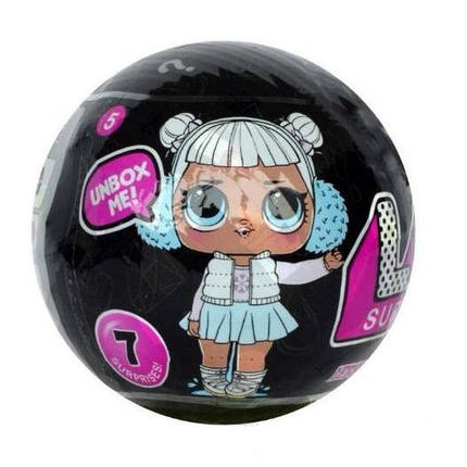 Кукла LoL Surprise Confetti Pop 5 Серия ЛОЛ 1шт, фото 2