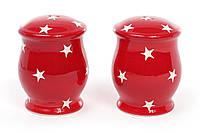 Набор для специй из керамики 2 предмета Звезды