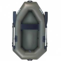 Надувная лодка Шторм st190 одноместная гребная с уключинами