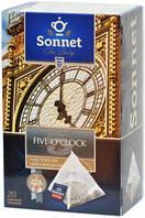 Чай черный Sonnet FIVE O`CLOCK, 20 пирамидок