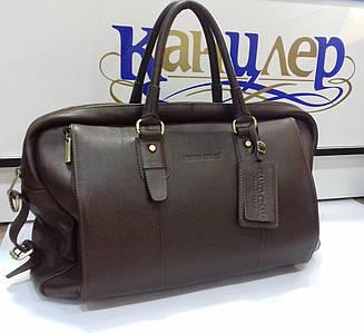Саквояж дорожная сумка из натуральной кожи
