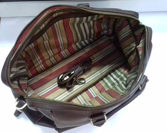 Саквояж дорожная сумка из натуральной кожи , фото 2