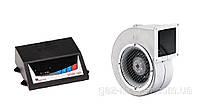 Вентилятор и автоматика для твердотопливных котлов SP-05 LED + DP-120