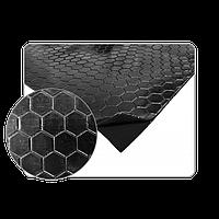 Самоклеючий бітумний звукоізолюючий матеріал - м'який 500х500мм АРР 050905