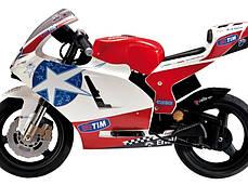 Детский мотоцикл Peg Perego Ducati GP Limited Edition 24V на резиновых колесах, мощность 350W, фото 3