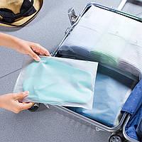 Пакеты для хранения вещей 20х20см, 10шт с замком-бегунком слайдер универсальные