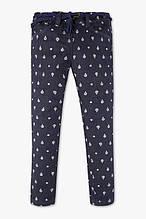 Стильные джинсы с принтом для девочки C&A Германия Размер 104, 134