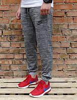 Мужские спортивные штаны Найк серые