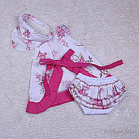 Платье с нарядными трусиками Пироженка (розовый), фото 1