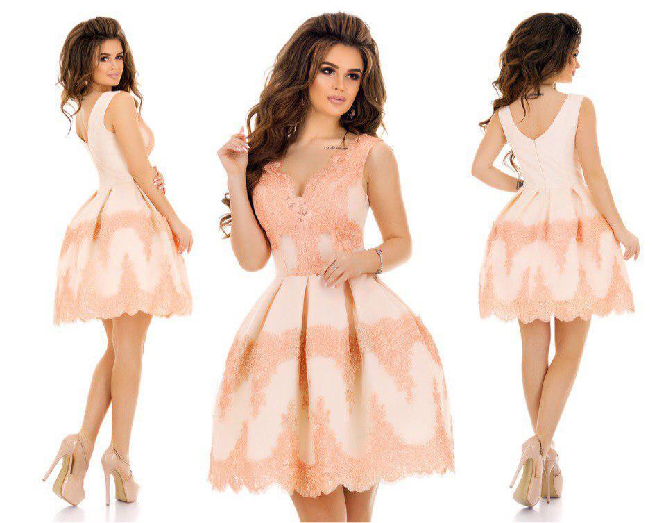 6bcc46ebcb8 Шикарное праздничное платье кружево +габардин+ фатиновый подьюбник Размер 42