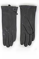 Элегантные женские кожаные перчатки КРОЛИК на зиму