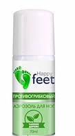 Аэрозоль для ног Противогрибковый  , Happy Feet