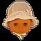 Панамка в полупрозрачный горошек Єви Elf-Kids 42р., фото 5