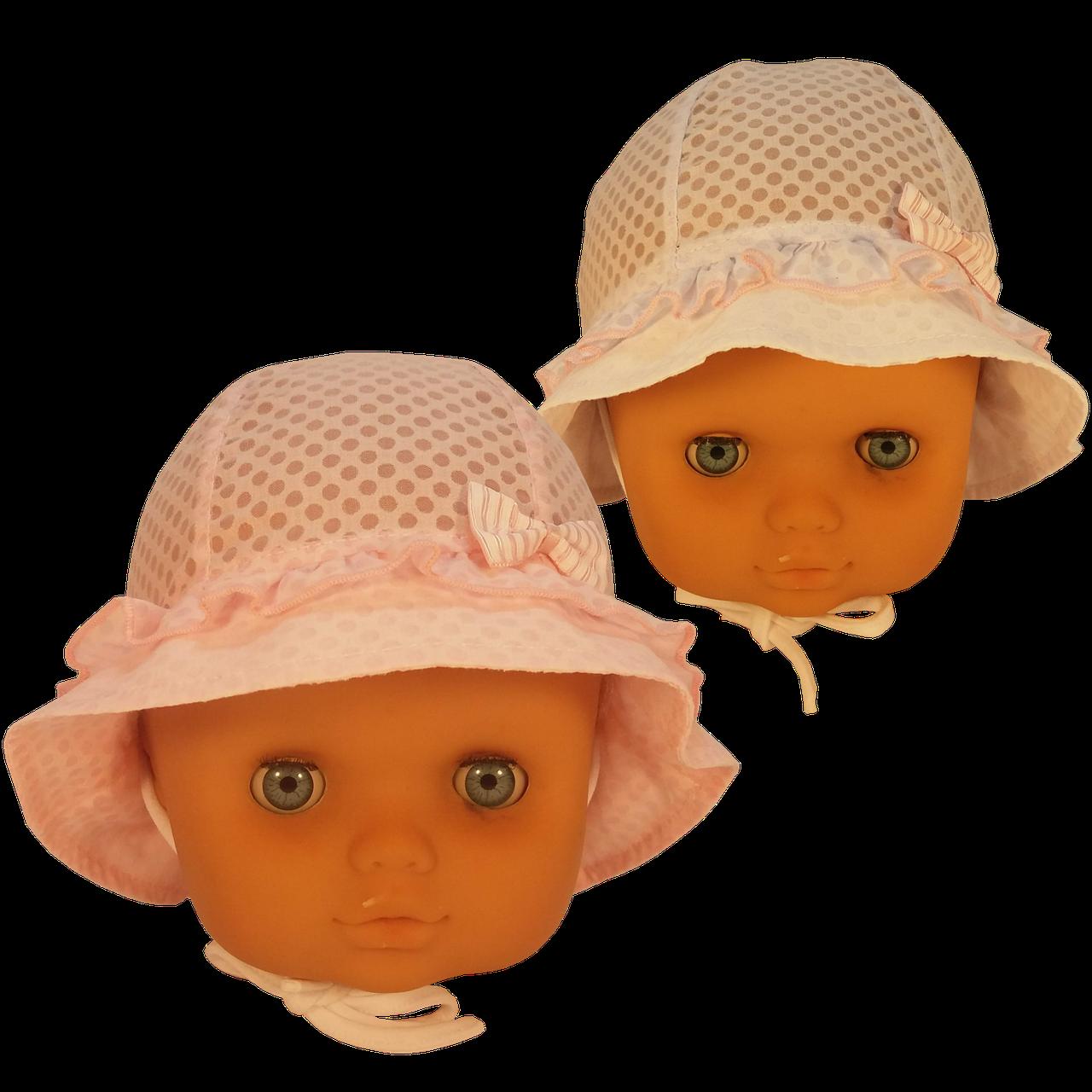 Панамка в полупрозрачный горошек Єви Elf-Kids 42р.