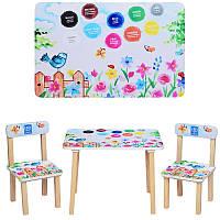 Столик 501-38  со стульчиком Пейзаж