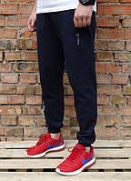 Мужские спортивные штаны Рибок тёмно-синие