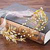 Украшение для волос НЕЛЛА золотая диадема венок на голову, фото 2