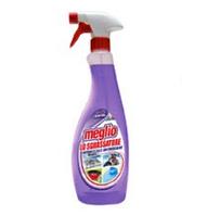 Моющие средства для кухни ароматом лаванды Meglio LAVANDA 750 ml спрей
