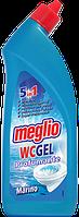 Гель для мытья туалета с морским ароматом Meglio WC Marino 750 ml 5/1