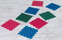 Массажный резиновый коврик для ног «Пазлы-8» (8 шт.)