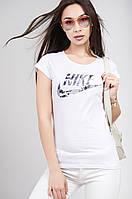 Женская молодёжная Футболка арт Nike