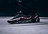 Мужские кроссовки Nike Air VaporMax 97 x Undefeated (Найк Аир Макс) черные, фото 8