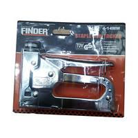 Степлер строительный с регулировкой FINDER 4-14мм
