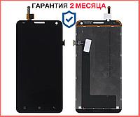 Дисплей + сенсор (модуль) Lenovo S580 черный