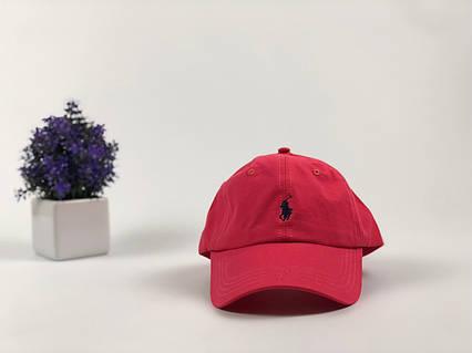 Кепка бейсболка Polo Ralph Lauren красная, фото 2