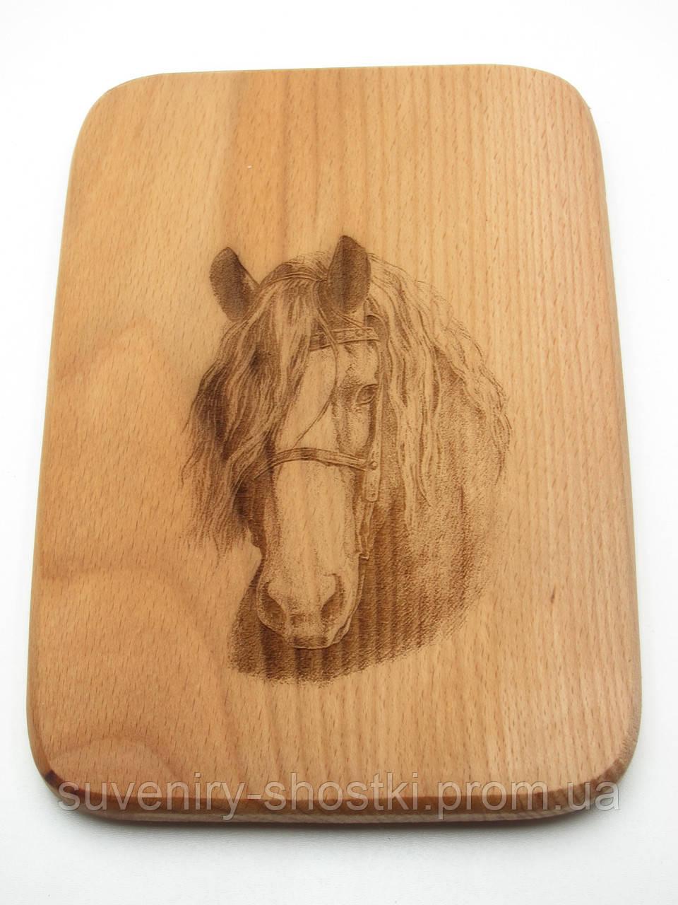 "Кухонная доска "" Лошадь """