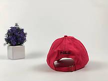 Кепка бейсболка Polo Ralph Lauren красная, фото 3
