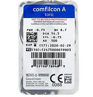 Контактные линзы CooperVision, Biofinity Toric