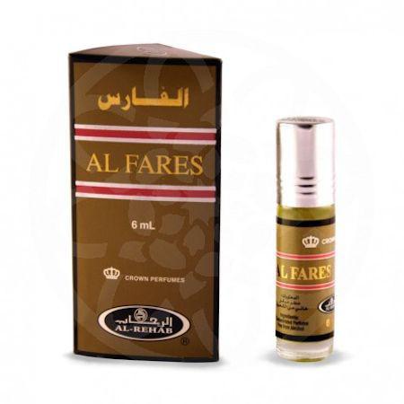 "Арабские масляные духи ""Al Fares"" Al-Rehab, 6мл"