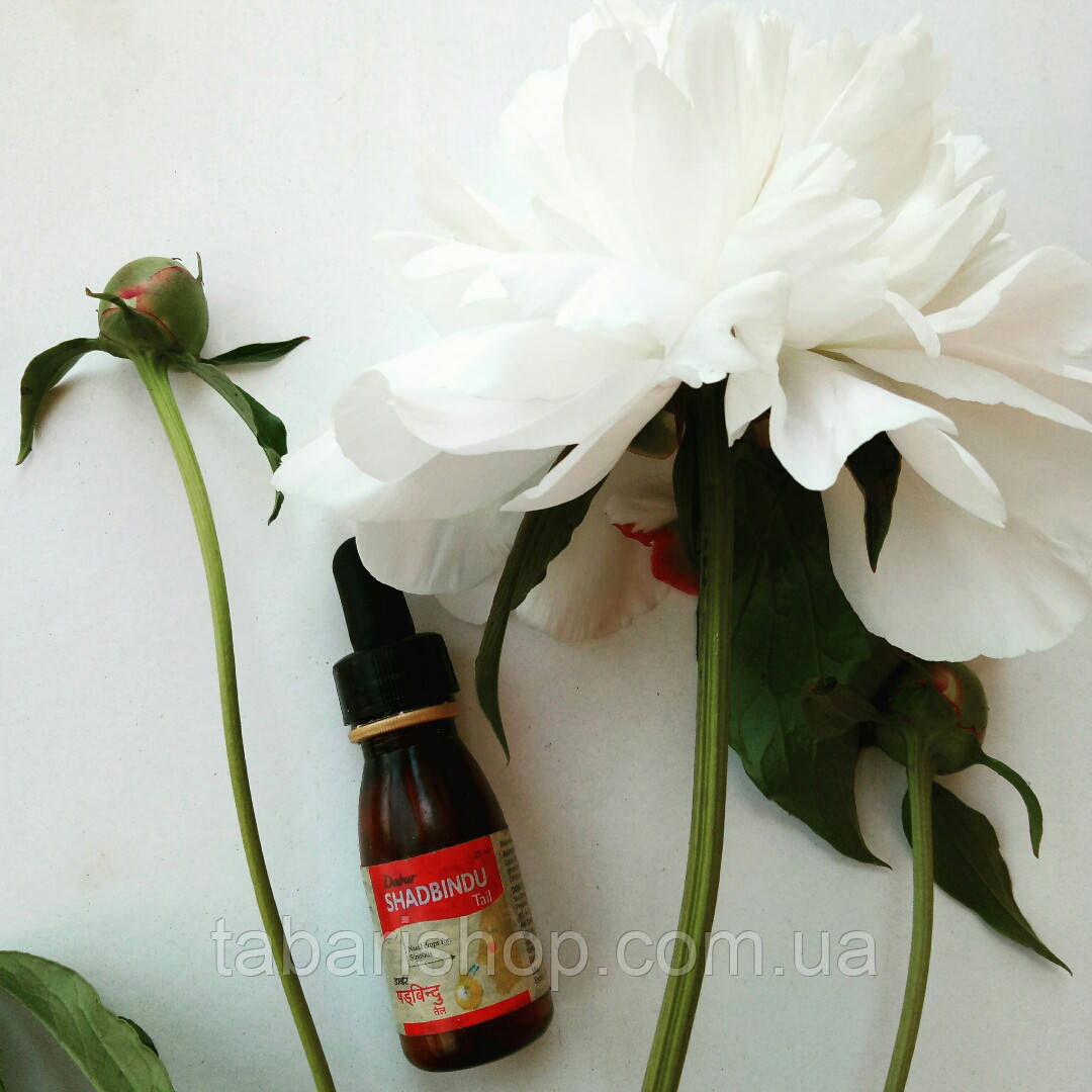 Шадбінду - масло-краплі для носа, Індія, 25 мл
