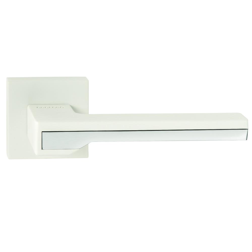Итальянская дверная ручка ORO&ORO 066-15E White/CP