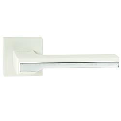 Італійська дверна ручка ORO&ORO 066-15E White/CP