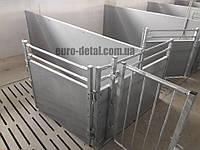 Клетки для свиней из ПВХ панелей, фото 1