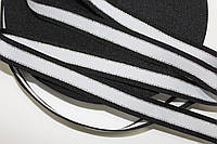 ТЖ 20мм (50м) черный+серебро+белый, фото 1