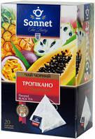 Чай черный Sonnet Тропикано, 20 пир.