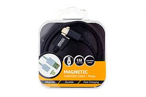 Магнитный кабель SEVEN Systems MC2 Lightning, black, фото 2