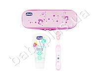 Дорожный набор: зубная щетка, зубная паста