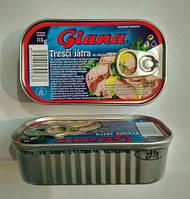 Печень трески 115гр Giana/Гиана Чехия